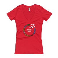 """Success"" Ladies' V-Neck T-shirt"