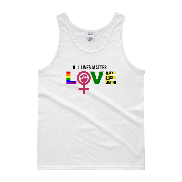 """Love"" Mens' Tank top"