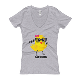 """Bad Chick"" V-Neck T-shirt"