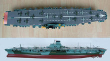 IJN Shinano Japan IJN carrier World War II. Precision and detailed workmanship RC control 1:144 scale Museum quality electric powered water Yamato Musashi WWII