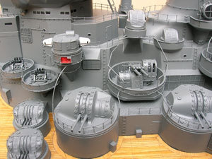 IJN Yamato Japan IJN battleship World War II Precision detailed workmanship RC control 1:144 scale Museum quality electric powered water shinano Musashi WWII