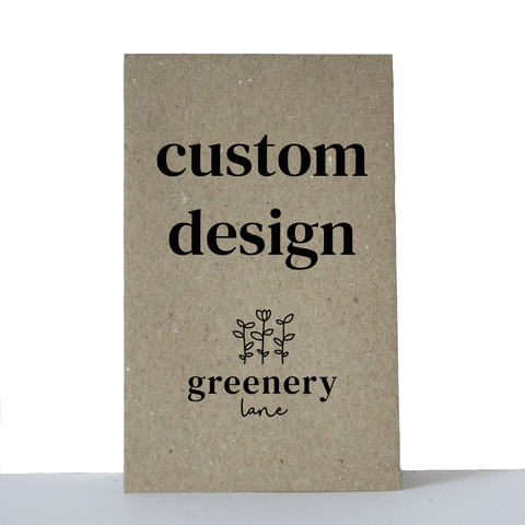 custom seed packets Australia gift corporate eco