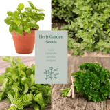 Greenery Lane Herb Garden Seed Growing Kit seed growing kit Australia herb seeds. Garden gift idea greenery lane