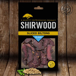 Sliced Biltong 180g Plain