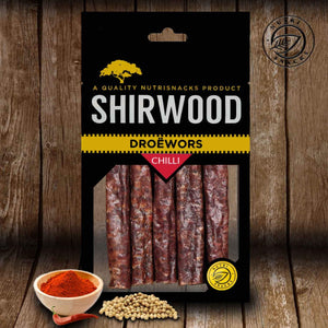 Droëwors Chilli 180g Packet