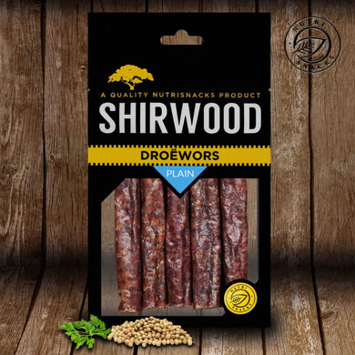Droëwors Plain 180g Packet