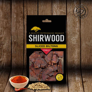 Sliced Biltong 50g Chilli