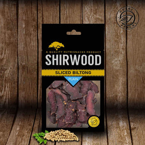 Sliced Biltong 50g Plain