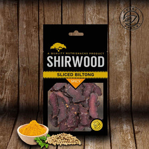 Shirwood Spicy Sliced Biltong 50g