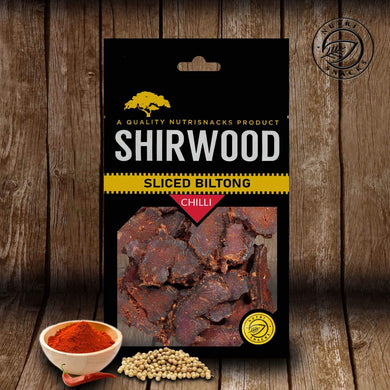 Shirwood Chilli Sliced Biltong 80g