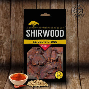 Sliced Biltong 80g Chilli