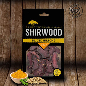 Sliced Biltong 80g Spicy