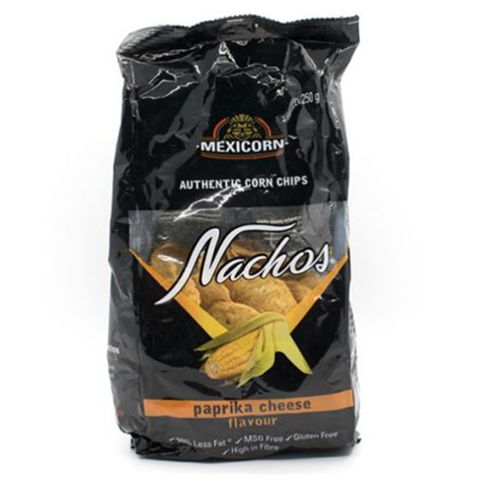 Mexicorn Paprika Cheese Nachos 250g*