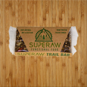Superaw 45g Natural Nut & Seed Bar