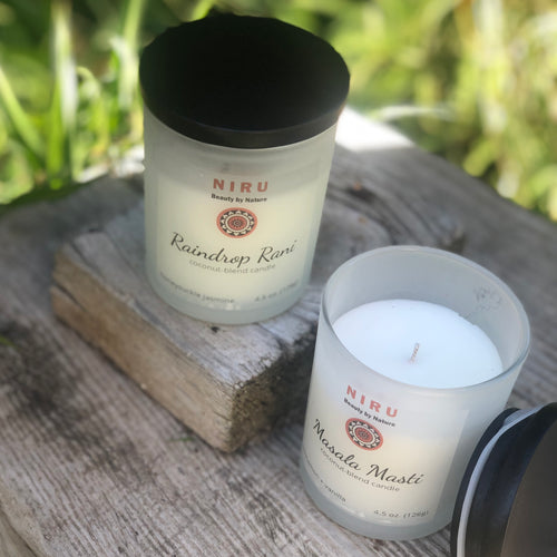 Hand-Poured Aromatherapy Candles