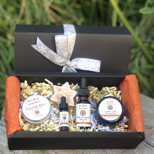 Naturally Beautiful Skin Care Gift Set