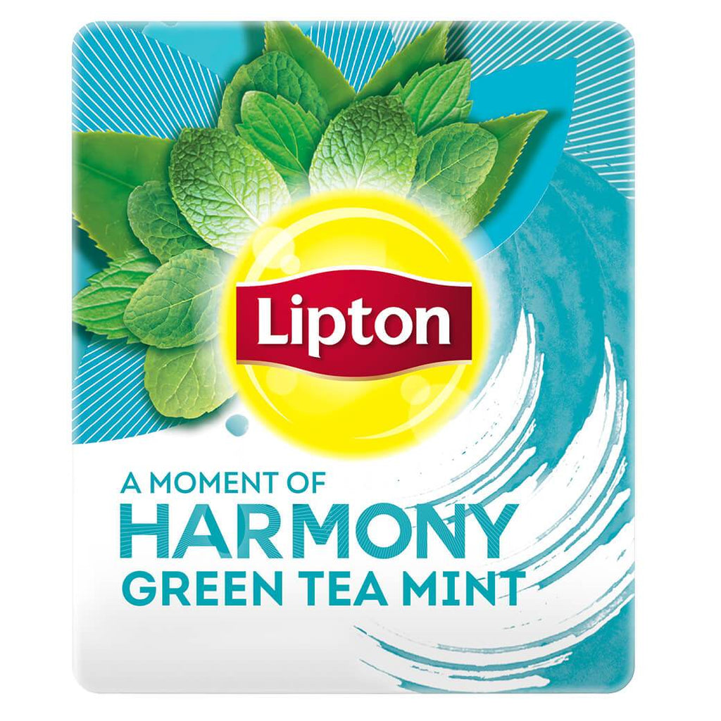 Lipton A Moment of Harmony Green Tea Mint (16x20 teabags)