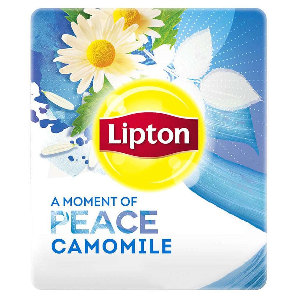 Lipton A Moment of Peace Herbal Infusion Camomile (16x20 teabags)