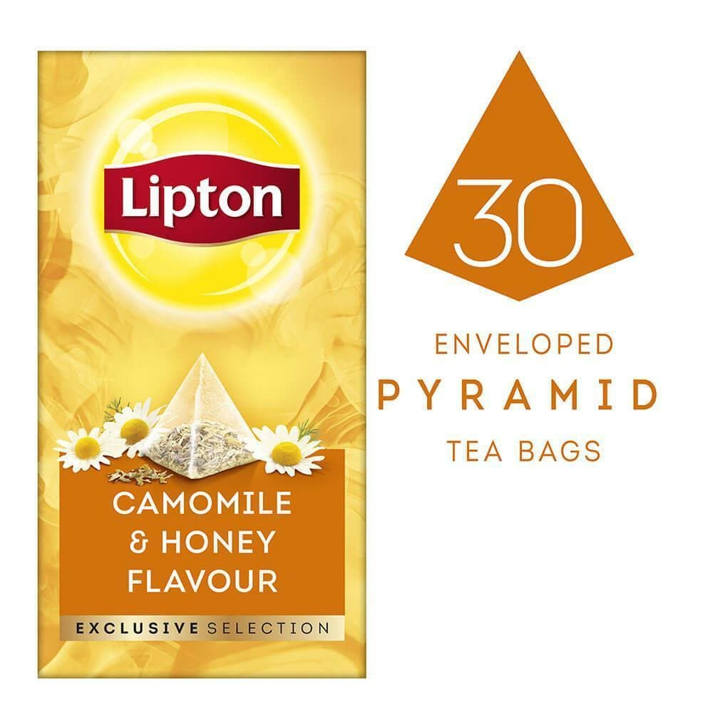 Lipton Exclusive Selection Camomile And Honey Flavour - Lipton Tea
