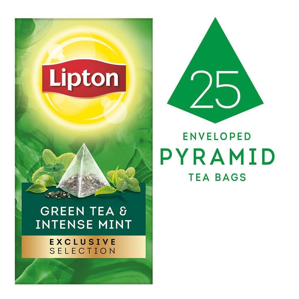 Lipton Exclusive Selection Green Tea And Intense Mint - Lipton Tea