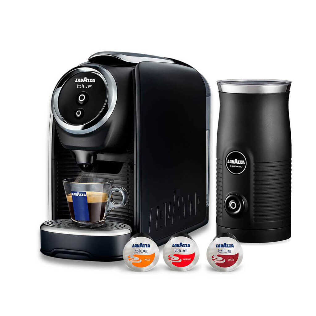 Lavazza Classy Mini with 25 Free Capsules and Milk Frother