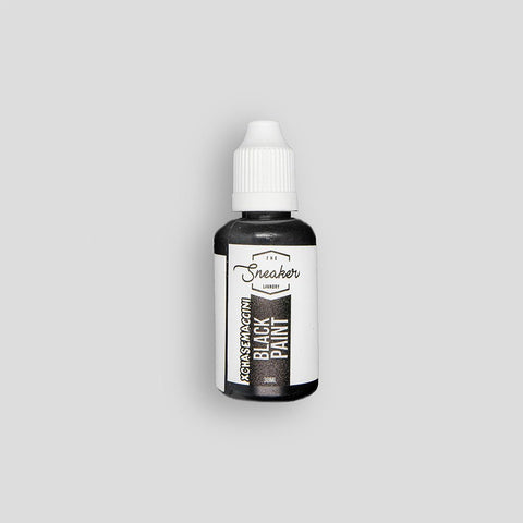 Black Paint 30ml - The Sneaker Laundry