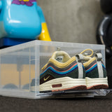 Drop Front Shoe Box | CLEAR - The Sneaker Laundry