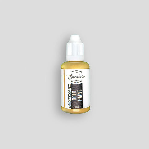 Gold Metallic Paint 30ml - The Sneaker Laundry