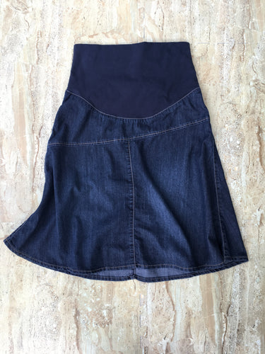 A-line Denim Skirt (S)