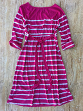 Pink Striped Dress (L)