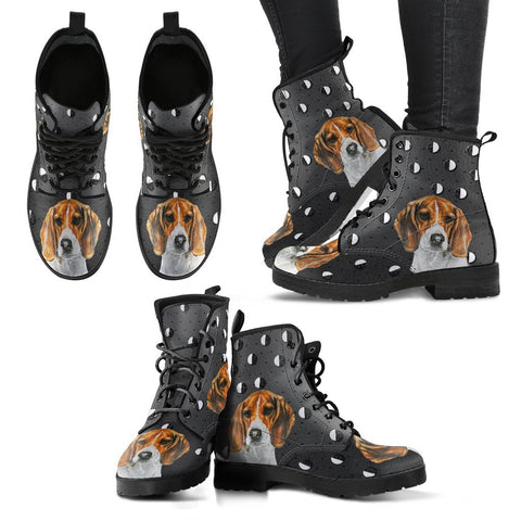 Valentine's Day Special-Beagle Print Boots For Women-Free Shipping