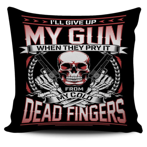 MY Gun-Pillow Cover-Free Shipping