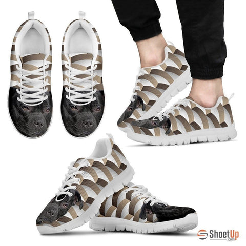 Staffordshire Bull Terrier Dog Running Shoes For Men-Free Shipping