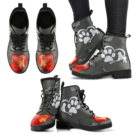 Valentine's Day Special-Brussels Griffon Print Boots For Women-Free Shipping