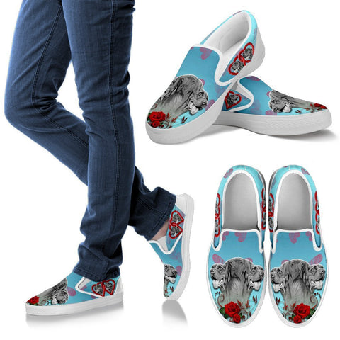 Valentine's Day Special-Vizsla Print Slip Ons For Women-Free Shipping