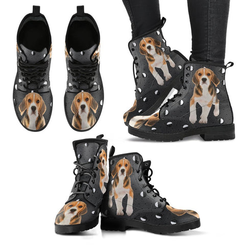 Valentine's Day Special-Beagle Dog Print Boots For Women-Free Shipping