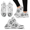 Valentine's Day Special-English Springer Spaniel Print Running Shoes For Women-Free Shipping