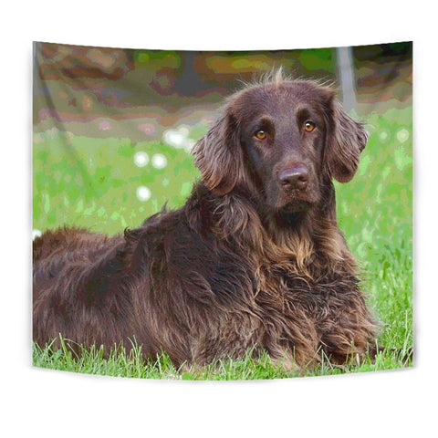 German Longhair Pointer Dog Print Tapestry-Free Shipping