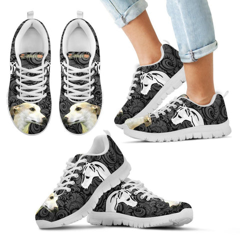 Whippet On Black-Kid's Running Shoes-Free Shipping