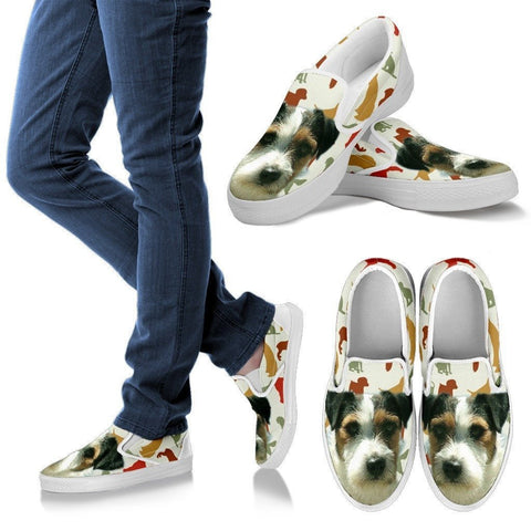 Parson Russell Terrier Slip Ons For Women- Express Shipping