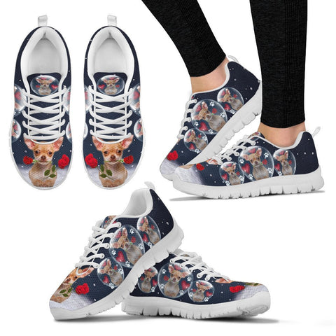 Valentine's Day Special-Chihuahua Print Running Shoes For Women-Free Shipping