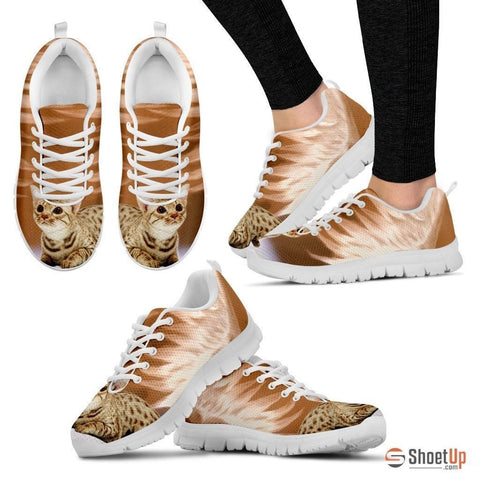 Ocicat Print Running Shoes For Women-Free Shipping