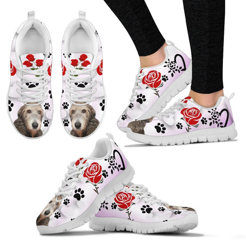 Valentine's Day Special-Irish Wolfhound Print Running Shoes For Women-Free Shipping