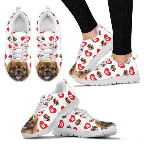 Valentine's Day Special-Tibetan Spaniel Print Running Shoes For Women-Free Shipping