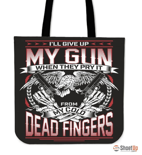 My Gun-Tote Bag-Free Shipping