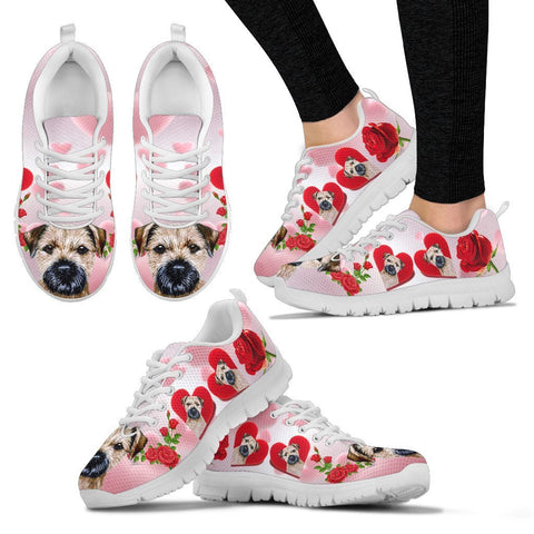 Valentine's Day Special-Border Terrier Print Running Shoes For Women-Free Shipping