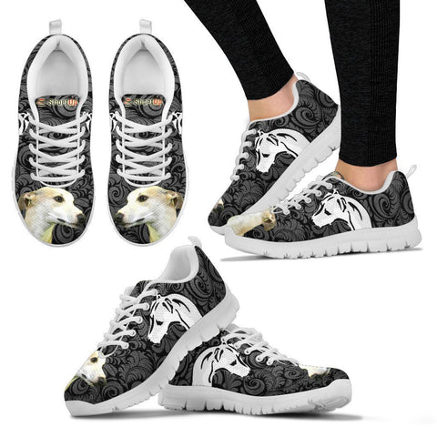 Whippet On Black-Women's Running Shoes-Free Shipping