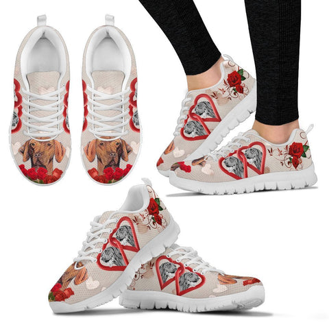 Valentine's Day Special-Vizsla Dog Print Running Shoes For Women-Free Shipping