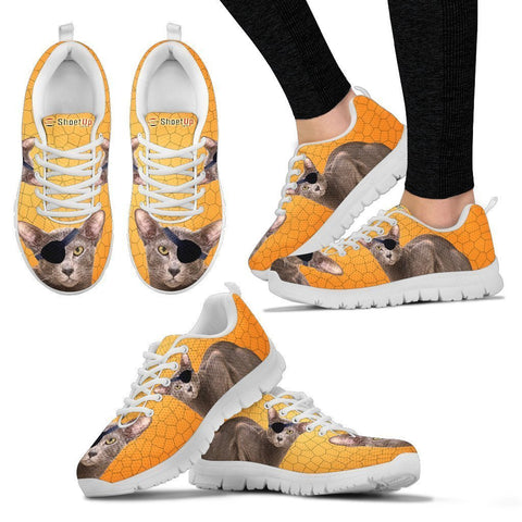 Oriental Shorthair Cat (Halloween) Print-Running Shoes For Women/Kids-Free Shipping