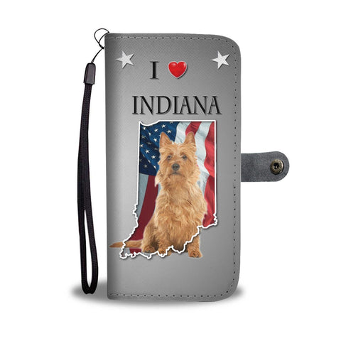 Australian Terrier Dog Print Wallet Case-Free Shipping-IN State